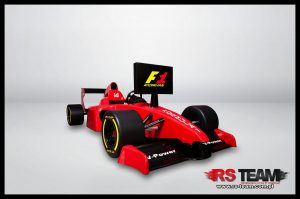 symulator bolidu F1 rs team