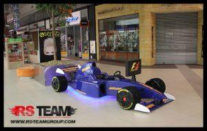 symulator bolidu F1 rs team