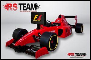 rs team symulator bolidu F1